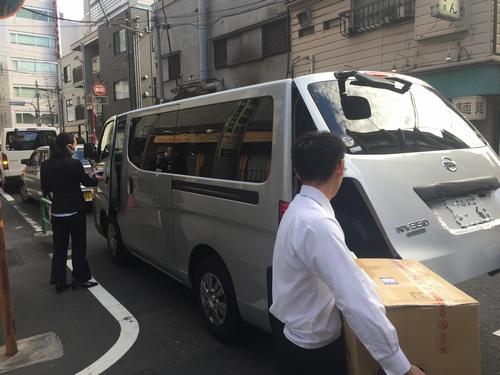 ジャパンライフ荷物運び
