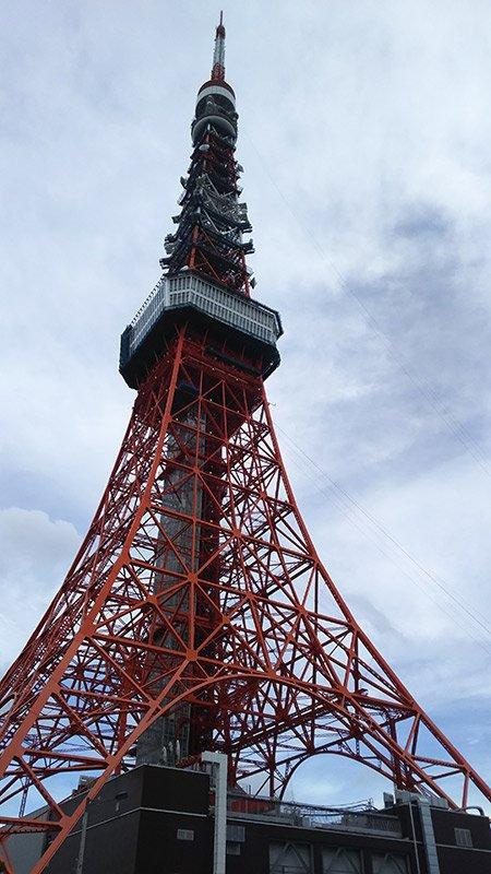 水族館が入る東京タワー