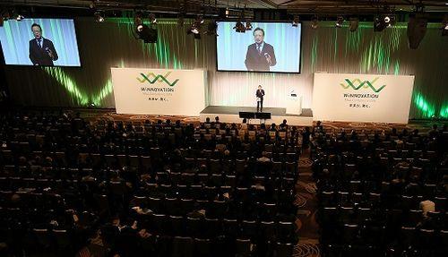 (昨年2月開催のM&AカンファレンスWiNNOVATION2018 日本M&Aセンター提供)