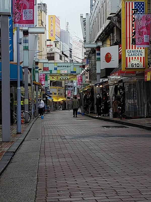 「新型コロナ」の影響、上野・アメ横周辺で探る