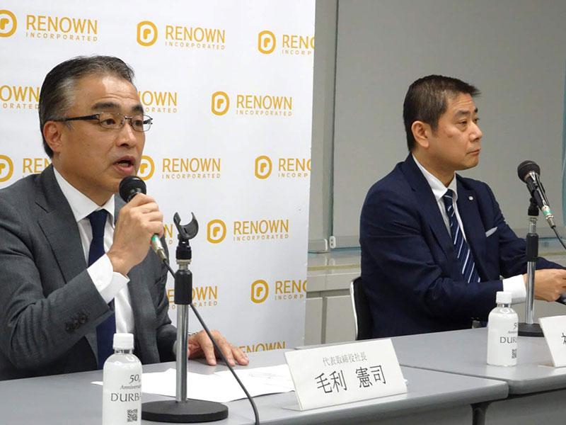 中国親会社が社長と会長の再任に反対、揺れる名門レナウンの新社長が会見