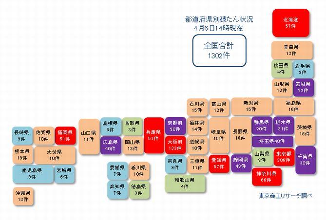 日本地図20210406②
