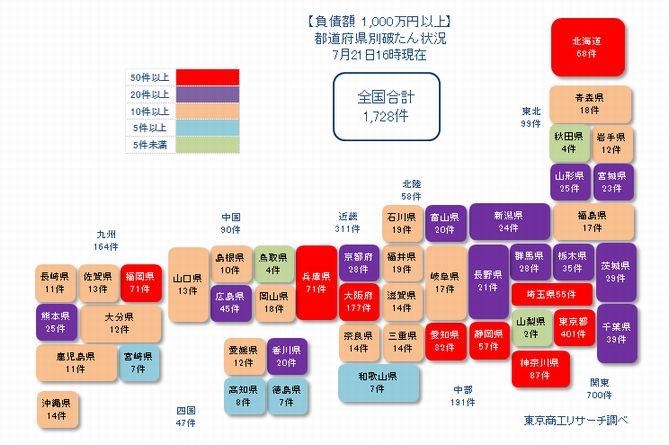 日本地図20210721①