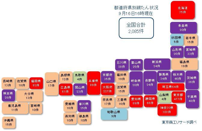 日本地図20210916未満